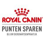 Logo Royal Canin: Spaar voor gratis diervoeding bij Dierenkliniek Ittersum in Zwolle-Zuid